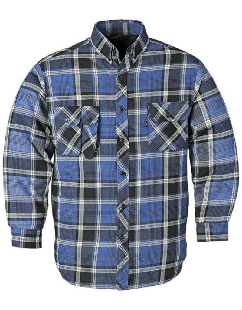 Thermo Overhemd Blauw