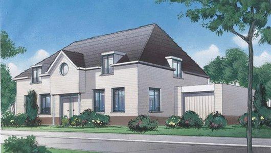 Mooie ontwerpen van woningen