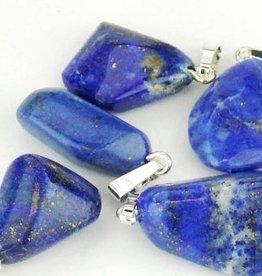 Lapis Lazuli avec pendentif en argent, la fermeture Cartier et un sac-cadeau