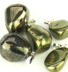 Pyriet goud met zilveren hanger, Cartier sluiting en kadozakje