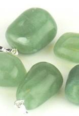 Jade - Nephrite com pingente de prata, o fechamento Cartier e saco do presente