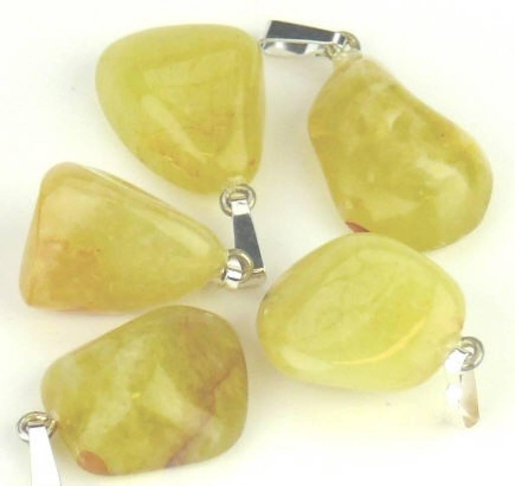 Opalite gioiello con ciondolo in argento, chiusura Cartier e sacchetto regalo