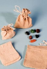 Unakite med sølv vedhæng, Cartier lukning og gavepose