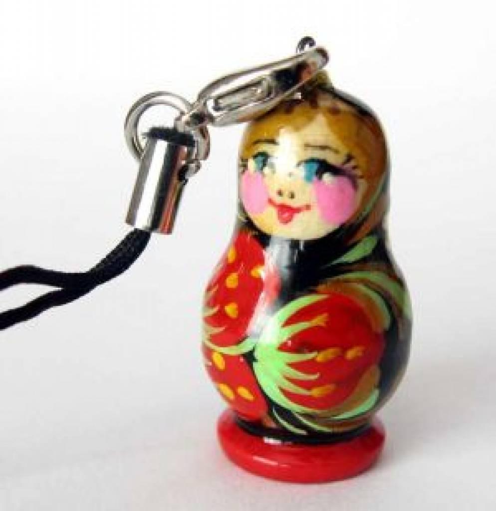 Matroschka oder Babuschka-Puppe-Russische Schachtelpuppe