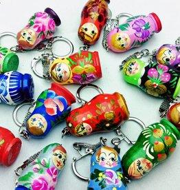 Matriochka porte-clés