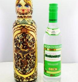 Matriochka Porte-bouteille 0,5 litre 34-36cm