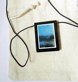 Gem Stein-Anhänger mit blauen Natur Amazonit