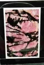 Gem pedra pingente Natural Rodonita