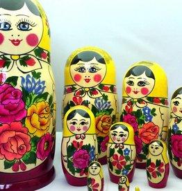 Matryoshka Semenov set 10 pieces (24-25 cm high)