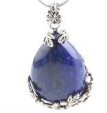 Lapis Lazuli with silver pendant