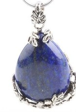 Lapis Lazuli com pingente de prata