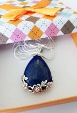 Lapis Lazuli avec pendentif en argent