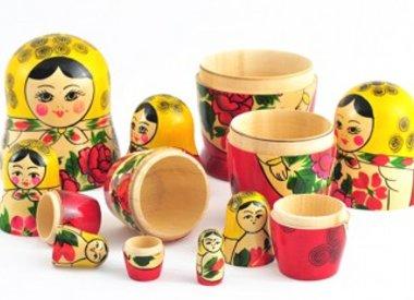 Butikken russisk dukke