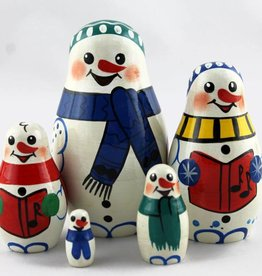 regalo de Navidad Papa Noel Santa Claus de 9-11 cm 5 piezas