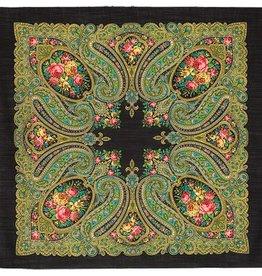 Russische Sjaal Ref 03 (kleuren assorti)90cmx90cm