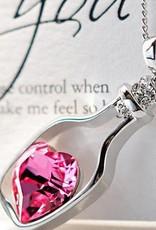 Matrioska colgante de plata esterlina Dia de San Valentin