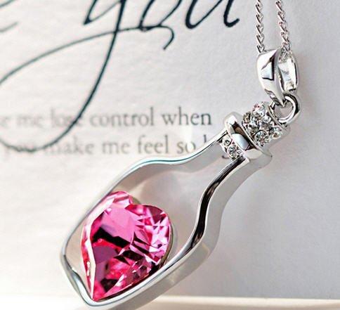 Matroesjka sterling zilveren hanger Valentijnsdag