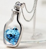 Babushka Sterling Sølv vedhæng Valentine