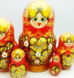 Matryoshka (5) Collection 15-16cm high