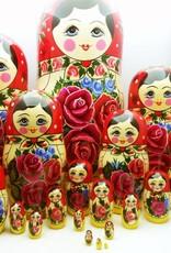 Bambola Rusa Matrioska M20 pezzi) 34-36cm di altezza