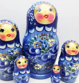 Matriochka (5) Collection 16-18 cm en haut