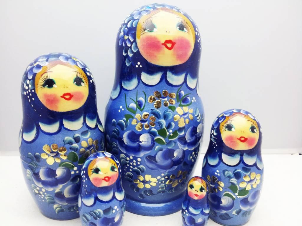 Matryoshka (5) 16-18 cm
