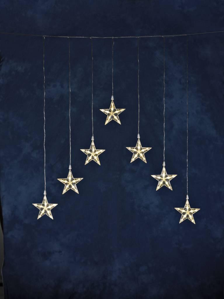 konstsmide led sterren gordijn