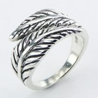 Design ring zilver
