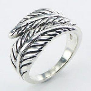 Design ring zilver