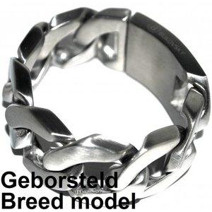 Bukovsky Stoere edelstalen armband