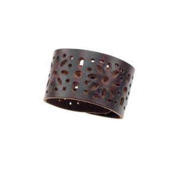 Bijoux just a touch Moderne leren armband
