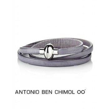 Antonio Ben Chimol Moderne leren armband