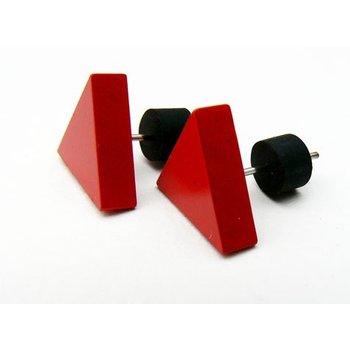 Tjongejonge Driehoekjes oorbellen