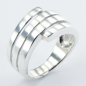 Mooie zilveren ring