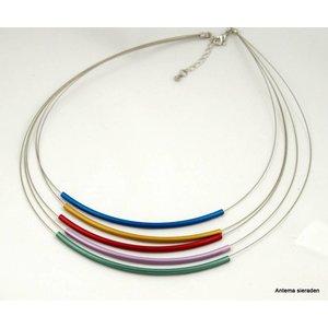 Mooi sieraden Kleurrijke ketting van MOOI sieraden
