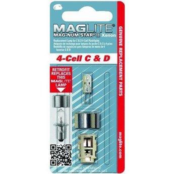 Maglite MAG-NUM STAR II Xenon 4-cell C&D