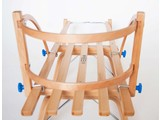 Ress Houten rugleuning voor houten slee (veilig & sterk)