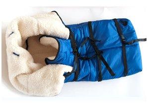 KHW Sleezak teddy, warme sleezak voor slee met zitje