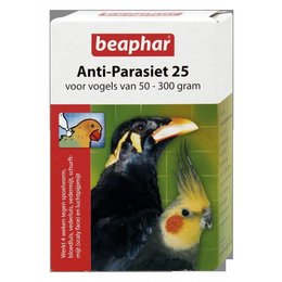 Beaphar Anti-Parasiet 25 vogel (2 pipetten)