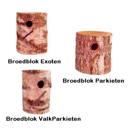 Naturstamm-Nisthöhlen für exoten