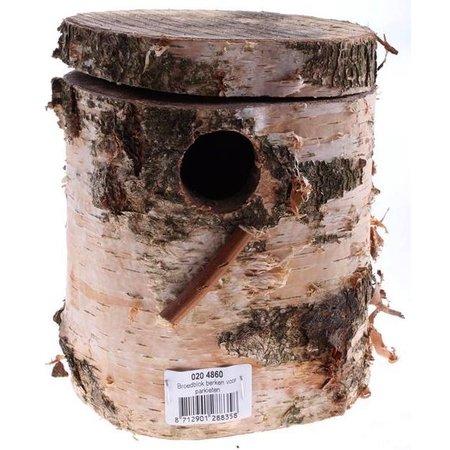 Naturstamm-Nisthöhlen für Sittich