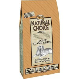 Natural Choice Adult Light Lam & Rijst