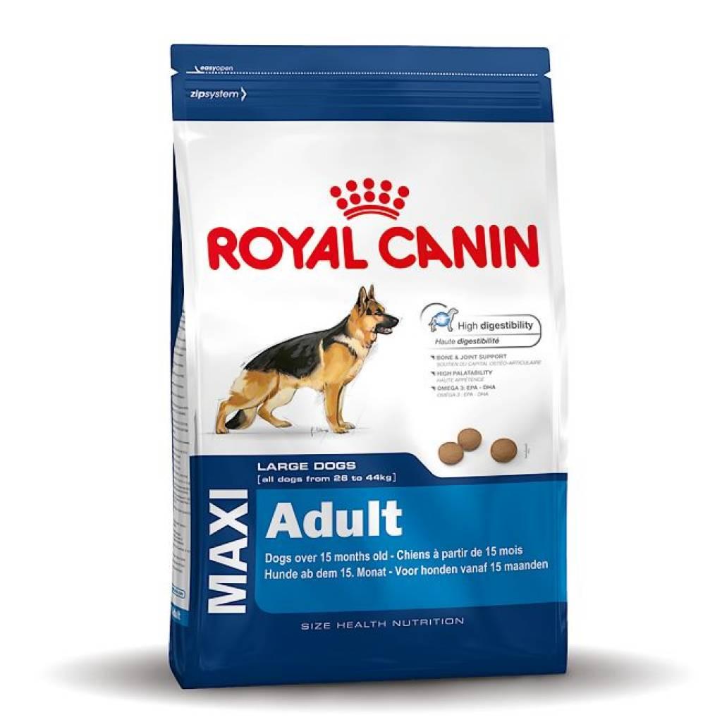 royal canin maxi adult. Black Bedroom Furniture Sets. Home Design Ideas