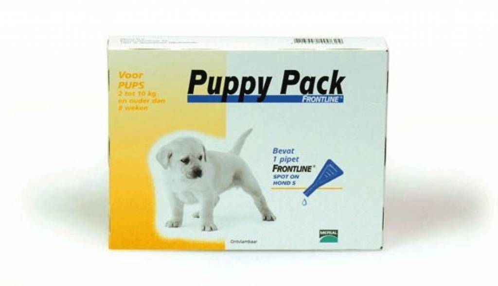 frontline for puppies. Frontline Puppy Pack 1 Pip For Puppies