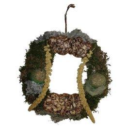 Feed wreath outdoor birds (30 cm)