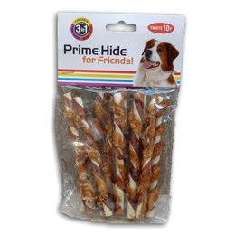 Prime Hide Twisted Sticks (12 cm)