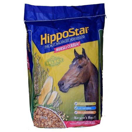 HippoStar Muesli Classic (15 kg)