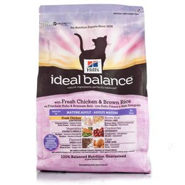 Hill's Ideal Balance Mature Feline Chicken & Rice (2 kg)