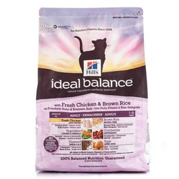 Hill's Ideal Balance Feline Adult - Chicken & Brown Rice (2 kg)