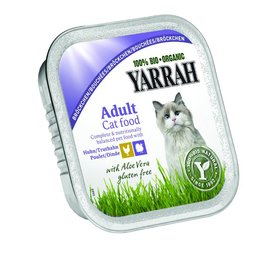 Yarrah Pate Chicken and Turkey with Aloe Vera (16 x 100g)
